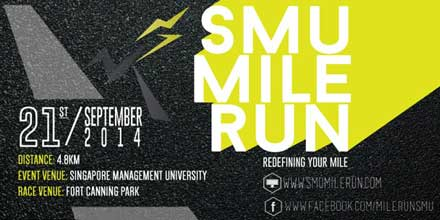 SMU Mile Run Singapore 2014