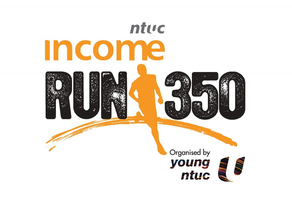 NTUC RUN 350 Singapore 2014 Logo