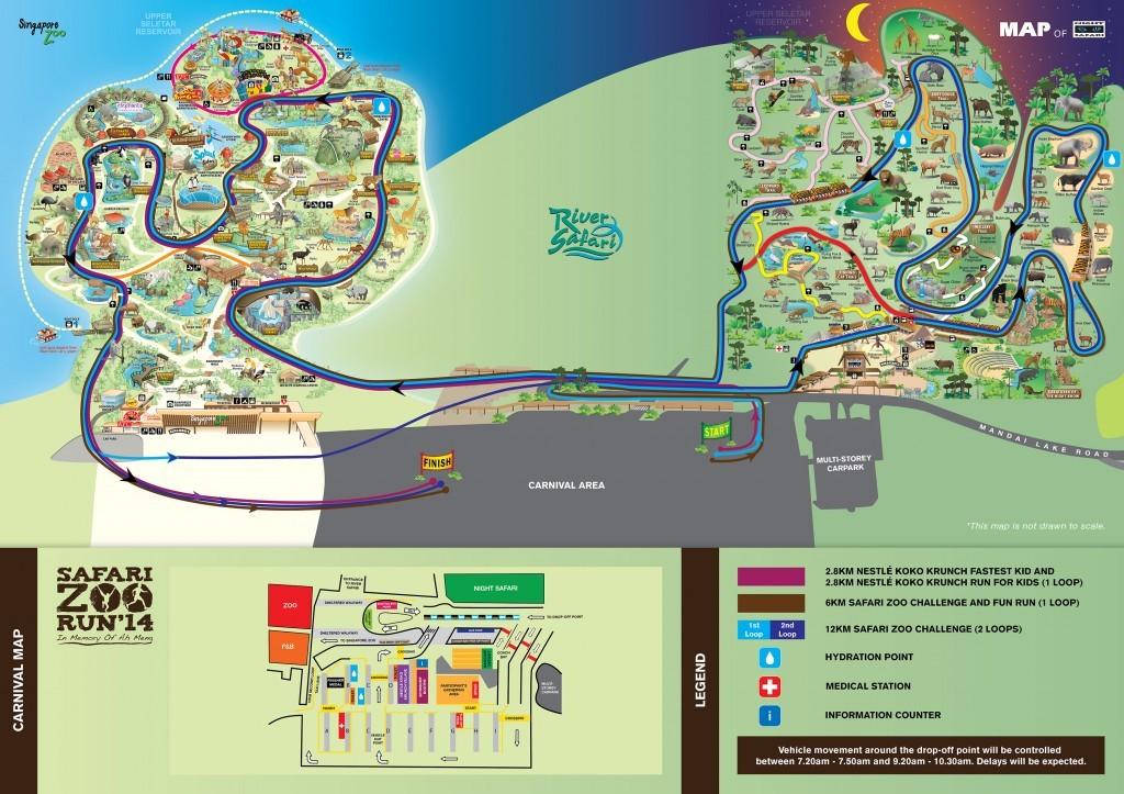 Safari Zoo Run 2014  Just Run Lah