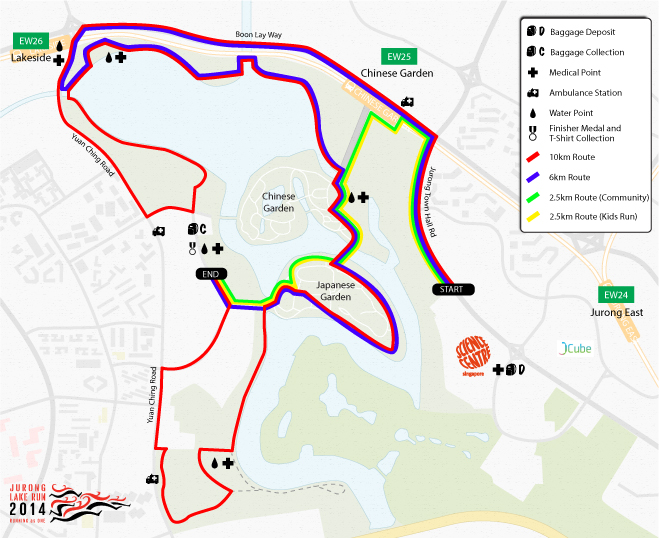 Running race route maps gallery