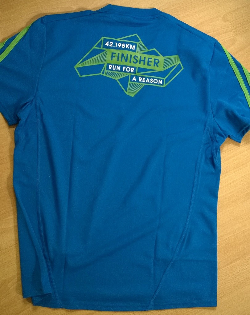 Design your own t shirt in singapore - Standard Chartered Marathon Singapore 2014