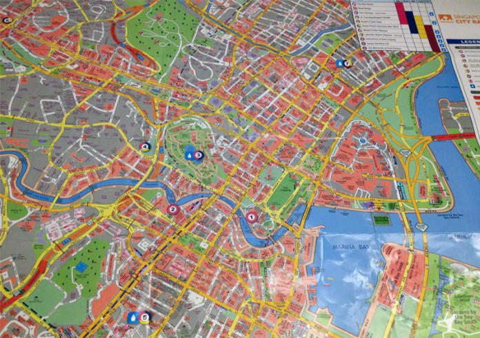 Nathan Singapore City Race 2014 Map