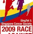 race against cancer run singapore 2009 logo