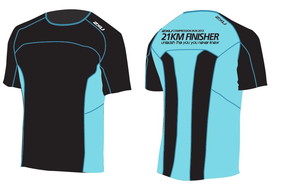 2xu Compression Run 2013 Finisher Just Run Lah