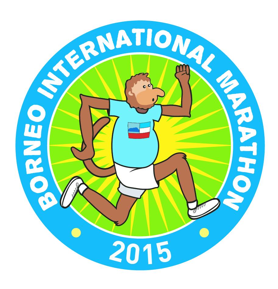 Borneo International Marathon 2015 Logo