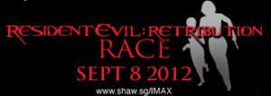 Resident Evil: Retribution Race Singapore