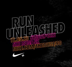Nike She Runs 5K Singapore 2013