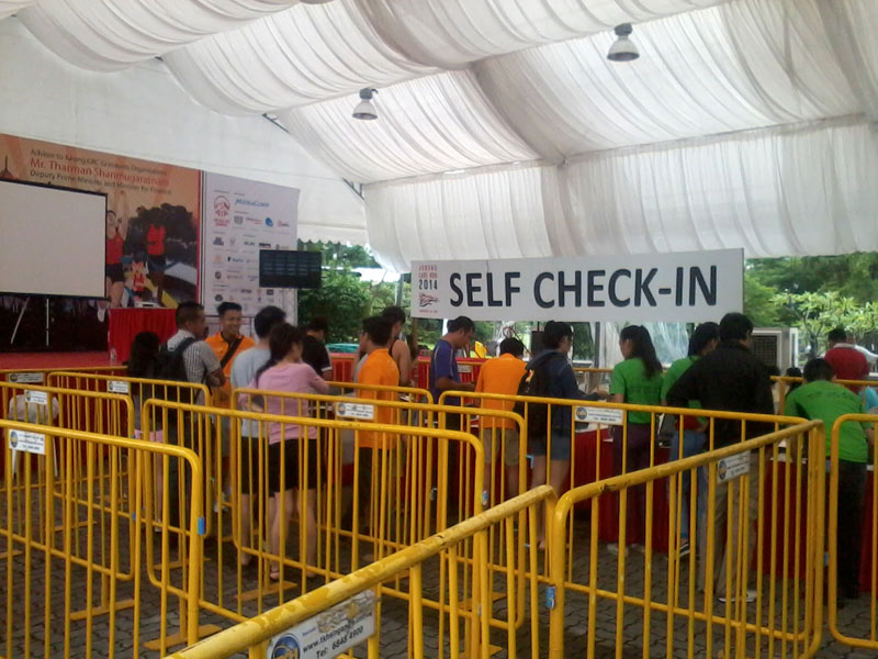 Self check-in