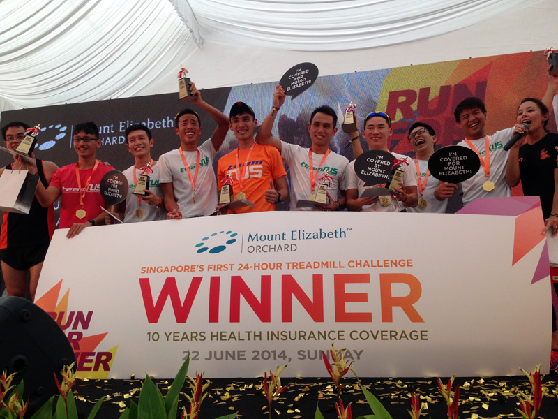 DTCC team: The winners of the challenge