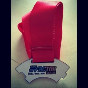 Tri Factor Medal (10.5km)