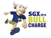 SGX Bull Charge Charity Run In The CBD 2014