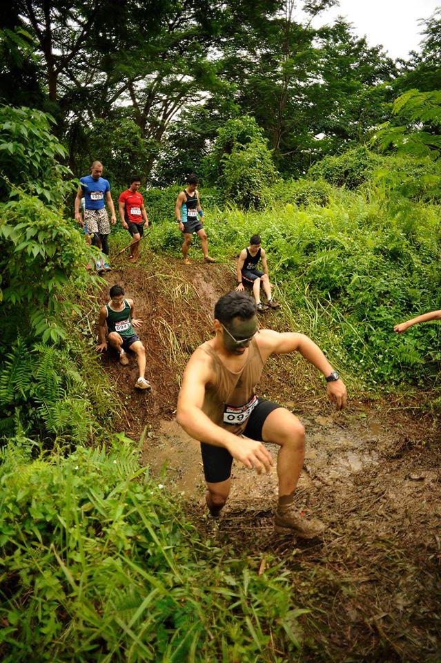 mud challenge commando