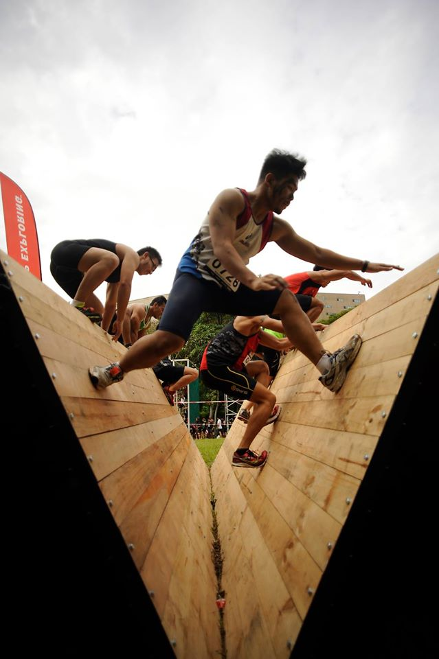 obstacle course jump
