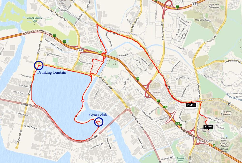 running-routes-singapore-pandan-reservoir