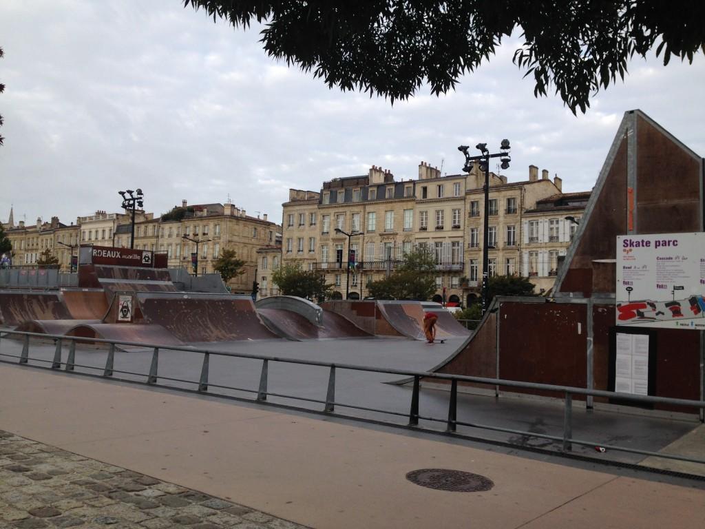 Skate park! Cool!