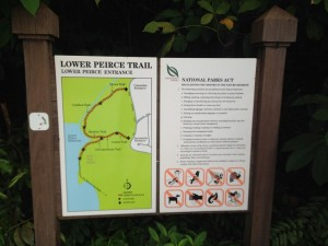 NPark guide to the Lower Peirce Trail