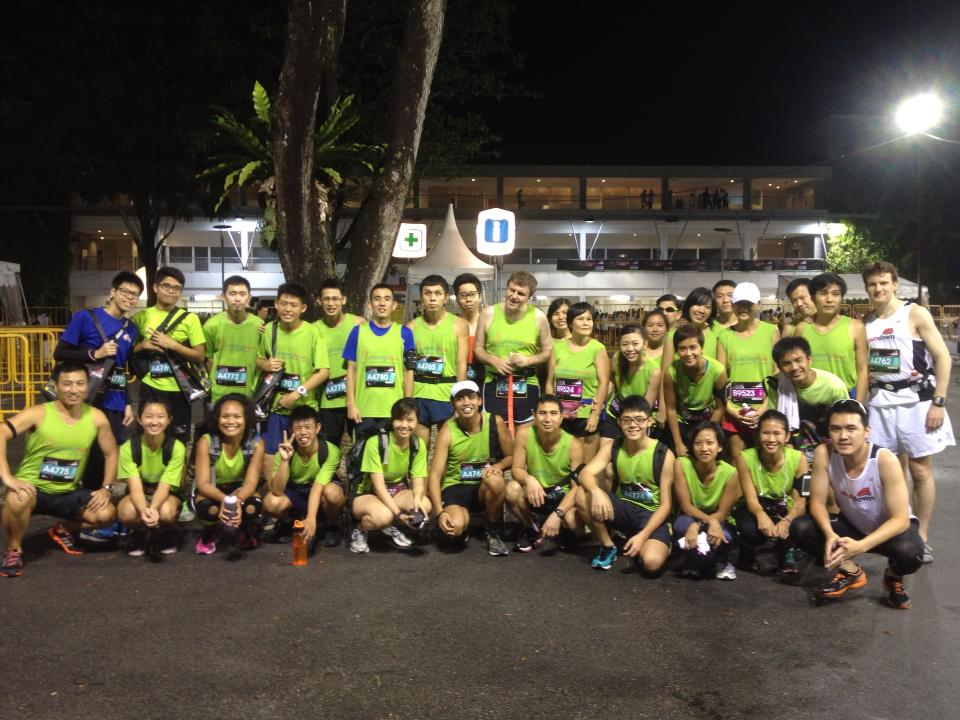 RH at Sundown Marathon.