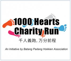 1000 Hearts Charity Run 2015