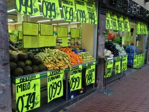 Comparing fresh produce price with Singapore