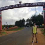 Ashley at Iten, home of champions