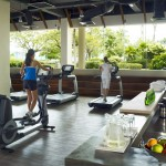 Shangrila's Tanjung Aru Resort - gym