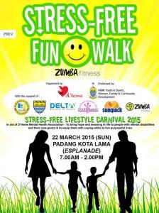 Stress Free Fun Walk 2015