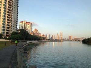 Kallang Stadium and Tanjong Rhu in sight