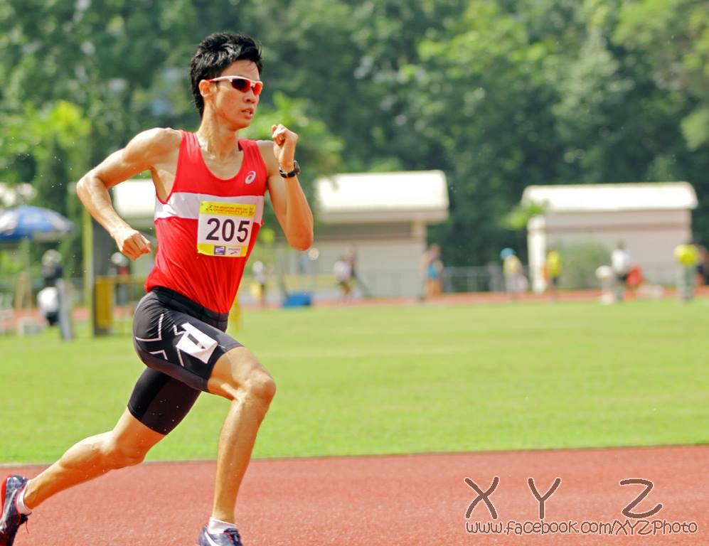 Soh Hua Qun at the Singapore Open 2014