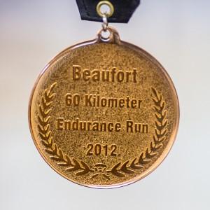 Hottest Race Medal - Beaufort Ultra 60k 2012