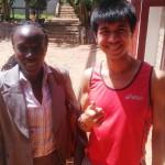 CIMG0449a Edna Kiplagat loves if more DCs in Kenya, aft her 3-time weekly massage HATC Hillary