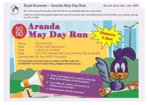 Aranda May Day Run 2015