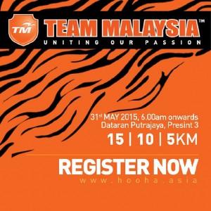 Team Malaysia Fan Run 2015