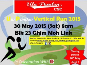 Ulu Pandan Vertical Run 2015