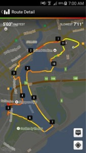 BBG 10km route