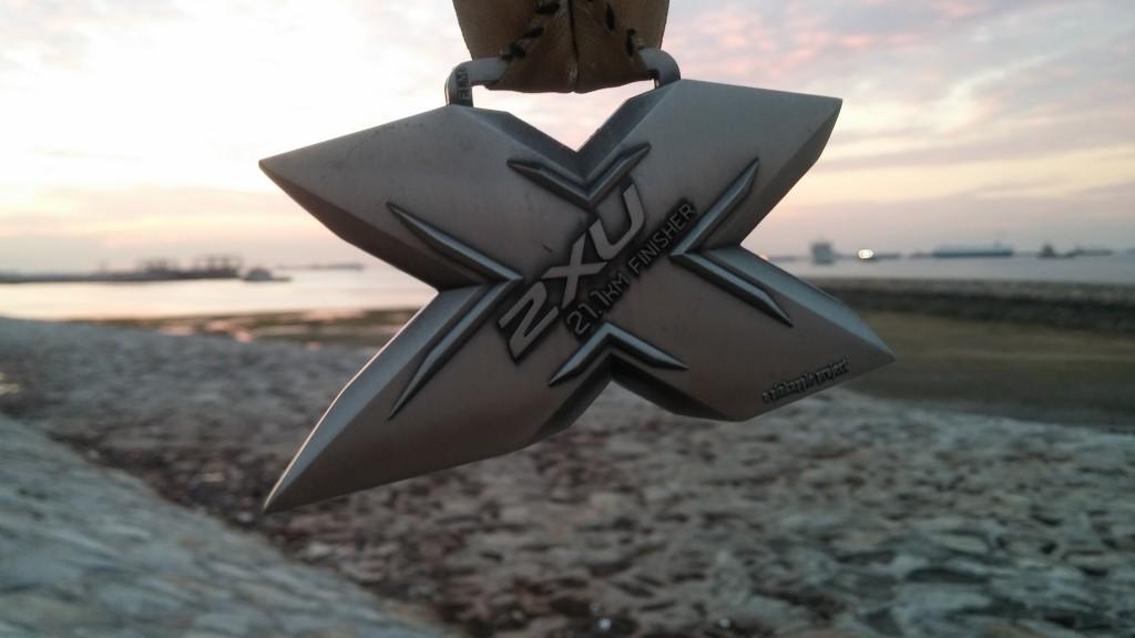 21km Finisher Medal