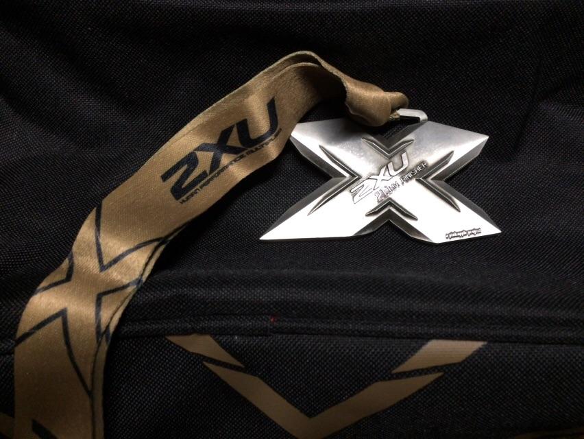 2xu compression run 2015 medal