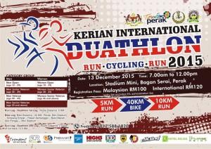 Kerian International Duathlon 2015
