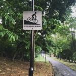Bike lanes and slopes