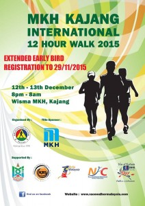 MKH Kajang International 12 Hour Walk 2015