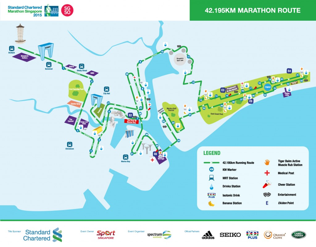 Standard Chartered Marathon Singapore 2015 Just Run Lah