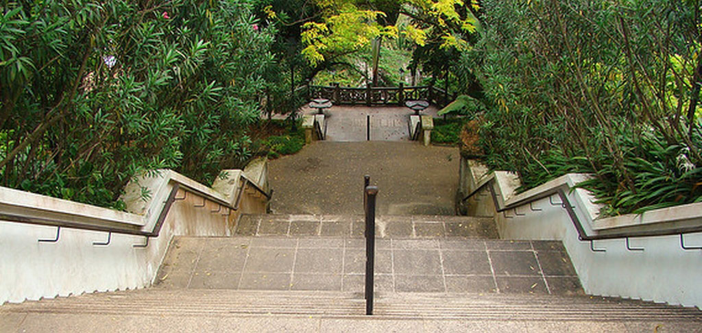 Fort Canning Stairs