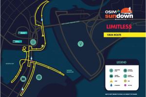 Sundown2016-10KM-Route