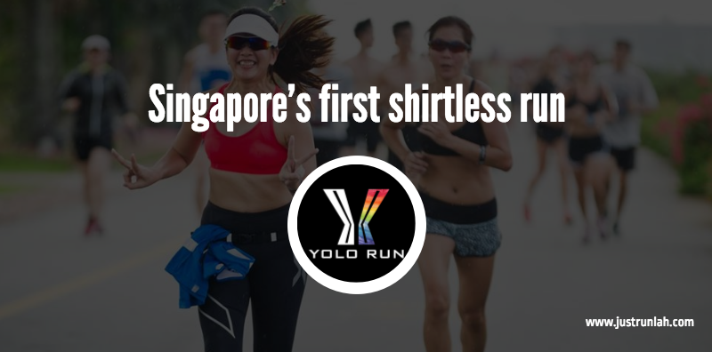 1 singapore first shirtless run