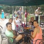 Team Costans feasting.