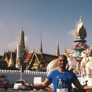 Mandatory photo with the Royal Grand Palace in the background.