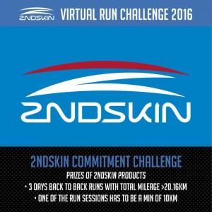 2ndskin Virtual Run Challenge 2016