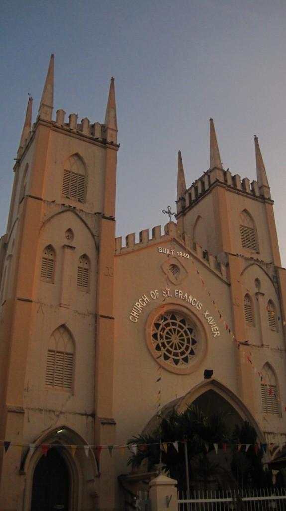 St. Francis Xavier Church (taken post-race)