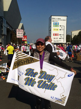 The Unlikely Marathoner
