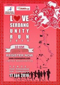 Love Serdang Unity Run 2016