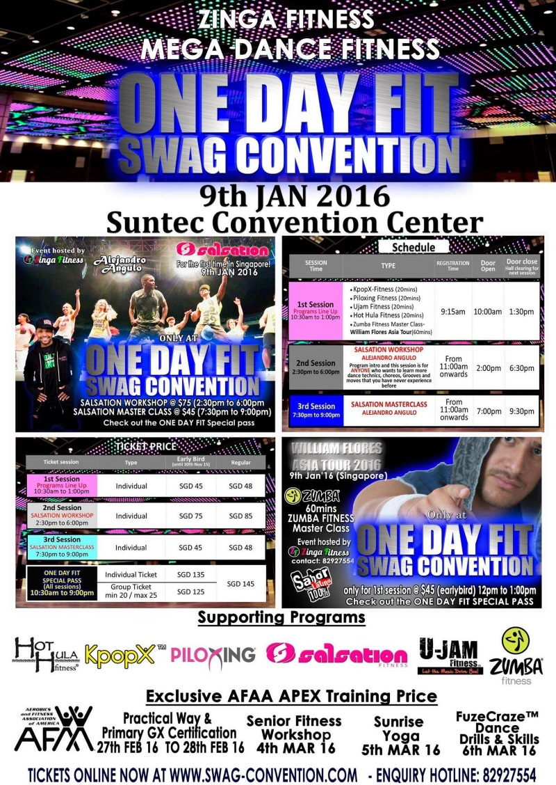 one day swag convention